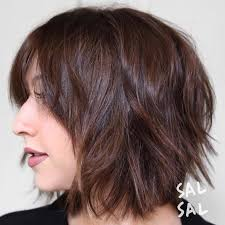 difference between a layerwd bob and a shag 40 short shag hairstyles that you simply can t miss shaggy bangs