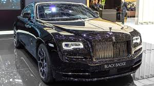 roll royce price 2017 rolls royce wraith black badge geneva motor show 2016 hq youtube