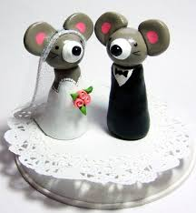 mice wedding cake toppers idea in 2017 bella wedding