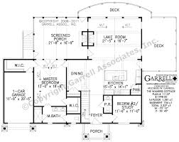 Country Cabin Floor Plans Walkers Cottage House Plan Country Farmhouse Southern