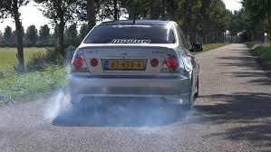 lexus turbo cars lexus is200 w toyota supra twin turbo engine burnout