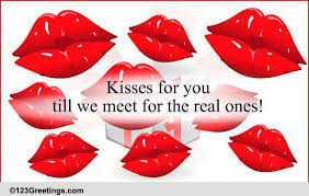 cute kiss cards free cute kiss wishes greeting cards 123 greetings