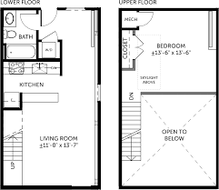 Floor Plans For Bedrooms by Metal Building 1 Bedroom Miller Lofts At Plant Zero