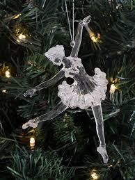 gisela graham ballerina tree decoration ornament