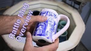 frost porcelain rattle mug overview pottery i youtube