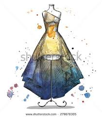 prom dress sketch stock images royalty free images u0026 vectors