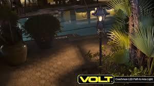 Led Pathway Landscape Lighting Volt Coachman Led Path Area Light Low Voltage Landscape