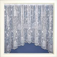 luxury net curtain jardiniere ready made white lace curtains all