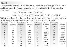 roman numbers 3 grade 3 mathematics kwiznet math science