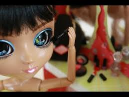 how to make doll make up youtube