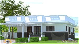 flat roof small house designs design ideas kerala style incredible