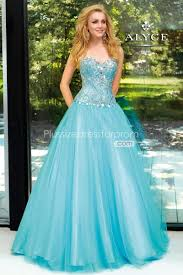 free shipping discount acgowns paris blue ball gown prom dresses