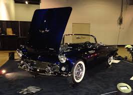 1955 ford thunderbird t bird custom restomod at world of wheels on