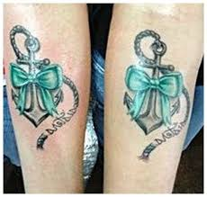 aj mccarron tattoos meaning sister anchor tattoos with bow