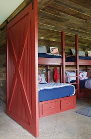 Barn Bunk Bed Bunk Beds With Barn Door Country Boy S Room
