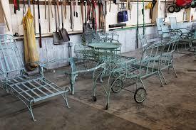 repainting my outdoor metal furniture the martha stewart blog