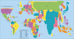 Map Showing Equator India Grows Canada Disappears Mapping Countries By Population