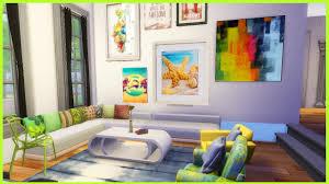 the sims 4 artsy livingroom cc youtube