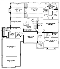 5 bedroom home plans 654263 5 bedroom 4 5 bath house plan house plans floor plans