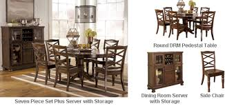 pedestal table with chairs buy online direct porter round drm pedestal table set buy online