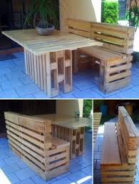 Outdoor Furniture Made From Pallets by 151 Best Pallet Art Images On Pinterest Home Pallet Ideas And Diy