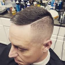 razor cut hairstyle with spiky on top 25 classy high and tight haircut ideas the modern gentleman s look