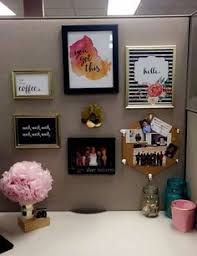 Office Shelf Decorating Ideas 54 Ways To Make Your Cubicle Suck Less Cubicle Desktop