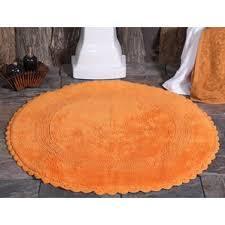 Orange Bathroom Rugs by Orange Bath Rugs U0026 Mats You U0027ll Love Wayfair