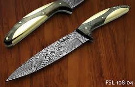 damascus steel kitchen knives collection on ebay