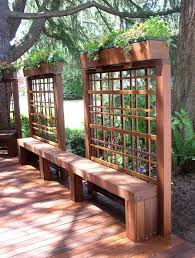 Deck Planters And Benches - best 25 deck benches ideas on pinterest deck bench seating