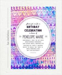 birthday invitation template 25 birthday invitation templates free sle exle