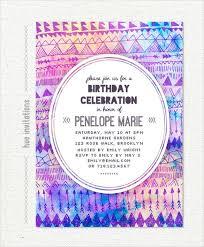 birthday invite template 20 birthday invitation templates free sle exle