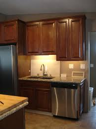Pullouts For Kitchen Cabinets Apartment Kitchen With Small Kitchen Cabinets With Raised Panels