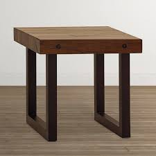 small wood end table living room end tables bassett accent stylish wood with 6
