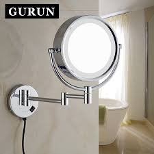 Wall Mounted Magnifying Mirror 10x Online Get Cheap Brass Vanity Mirror Aliexpress Com Alibaba Group
