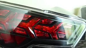 Lamborghini Aventador Tail Lights - buddy club frs brz 86 taillights installed and light functions