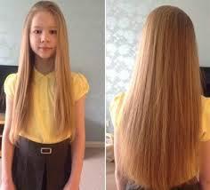 cuts rapunzel like hair for a good cause u2014 little princess