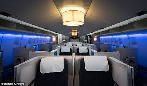 747 Dreamliner Interior British Airways U0027 New Boeing 747 Interior Upgrade Revealed Daily