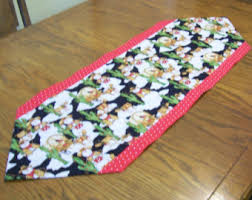 Kitchen Table Runners by Cactus Table Runner Etsy