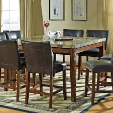Red Barrel Studio Valholl Counter Height Dining Table  Reviews - Barrel kitchen table