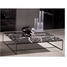 Contemporary Coffee Table Perfect Black Marble Coffee Table Prairie Black Marble
