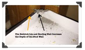 How To Install Tile Around A Bathtub Bathroom Remodeling Part 2 Prep For Shower Tile