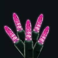 pink led christmas lights go green led bulbs