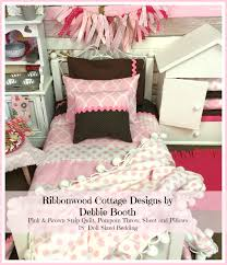 Duvet Sewing Pattern Sewing Pattern 18 Inch Pdf Pattern Pink And Brown Strip Quilt