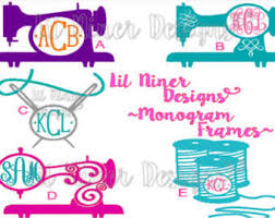sewing machine decal etsy