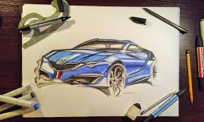peugeot france car design sketches and drawings copic sketch peugeot france