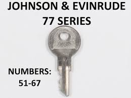 oem ignition keys for johnson evinrude u0026 omc