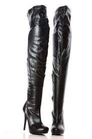 s boots 30 black faux leather thigh high undercover boots cicihot boots