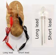 Battery Light Comes On And Off Potato Battery How To Turn Produce Into Veggie Power