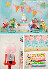 Decorations For Sweet 16 Kara U0027s Party Ideas Sweet Shoppe Candy Themed Birthday Party Via